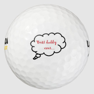 超ウイルソン500/Golf球かベストのお父さん ゴルフボール