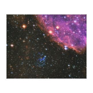 超新星の残りSNR E0102 キャンバスプリント