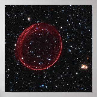超新星の泡 ポスター