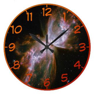 超新星の蝶 ラージ壁時計