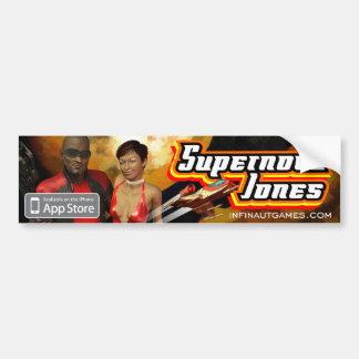 超新星ジョーンズ バンパーステッカー