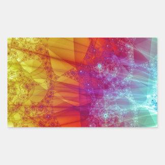 超新星 長方形シール