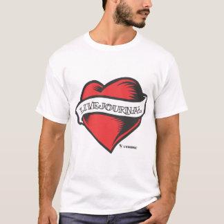 超柔らかいファッションT (LiveJournalの入れ墨) Tシャツ