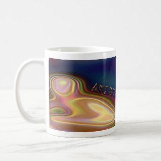 超越的な黙想 コーヒーマグカップ