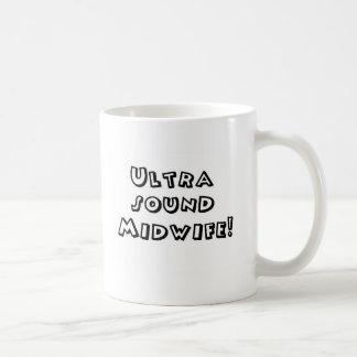 超音波の助産婦 コーヒーマグカップ