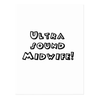 超音波の助産婦 ポストカード