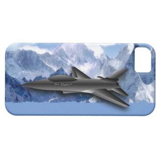 超音速ジェット機戦闘機及び山は子供へを設計します iPhone SE/5/5s ケース