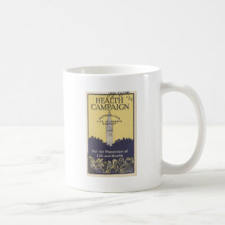 超高層ビル コーヒーマグカップ