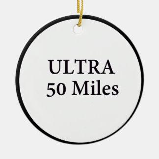 超50マイルの円 セラミックオーナメント