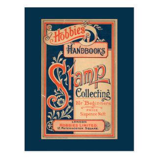 趣味および手引の切手収集 ポストカード