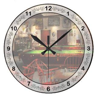 趣味-プール-ビリヤードクラブ1915年 ラージ壁時計