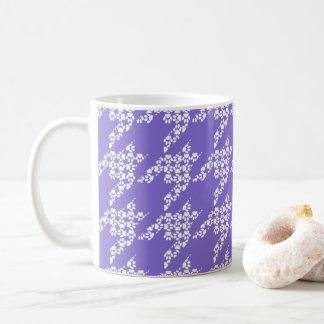 足のためコーヒーマグ(すみれ色か白い) コーヒーマグカップ