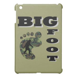 足のロゴの大きい足 iPad MINIケース