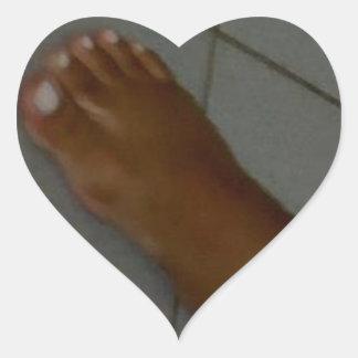 足の奴隷 ハートシール