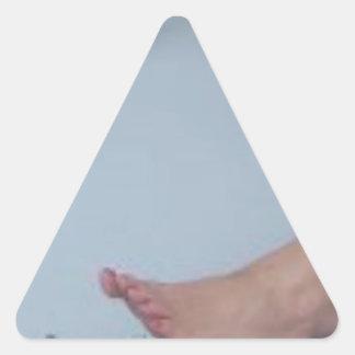 足の奴隷 三角形シール