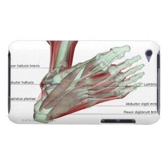 足のMusculoskeleton Case-Mate iPod Touch ケース