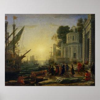 足根1642年で上陸させているCleopatra ポスター