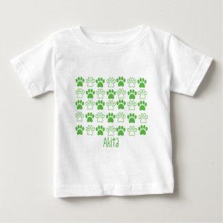 足秋田による足 ベビーTシャツ