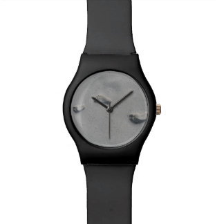 足跡の腕時計 腕時計