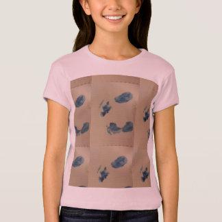 足跡 Tシャツ