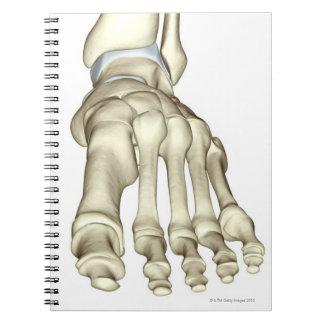 足8の骨 ノートブック