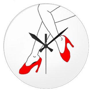 足 ラージ壁時計