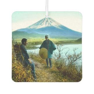 路傍のヴィンテージによって休んでいる富士山の巡礼者 カーエアーフレッシュナー
