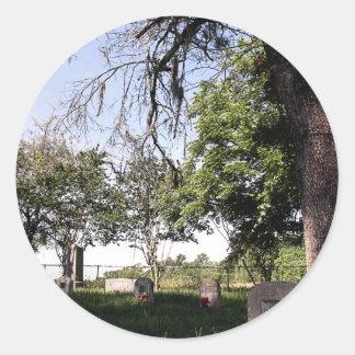 路傍の墓地 ラウンドシール