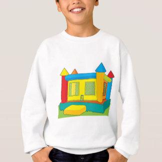 跳ね上がりの城 スウェットシャツ