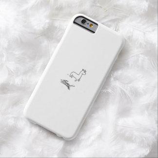 跳躍のアルパカ BARELY THERE iPhone 6 ケース