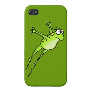 跳躍のカエル iPhone 4/4S CASE