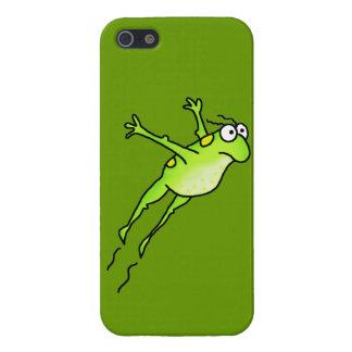 跳躍のカエル iPhone 5 カバー
