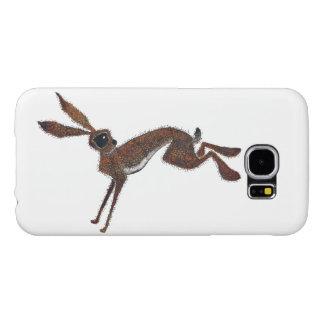 跳躍のノウサギ SAMSUNG GALAXY S6 ケース