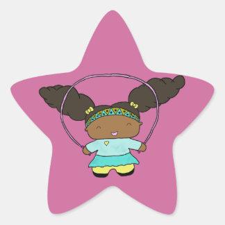 跳躍のペニーのステッカー 星シール