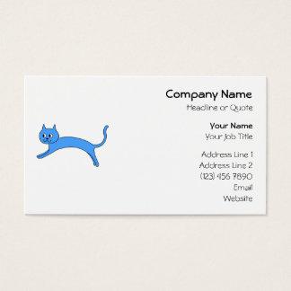 跳躍の青猫 名刺