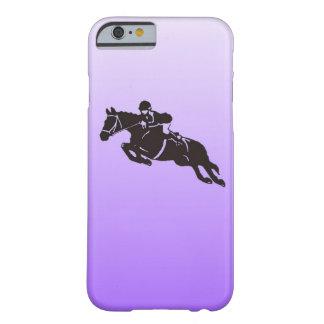 跳躍の馬の電話箱 BARELY THERE iPhone 6 ケース