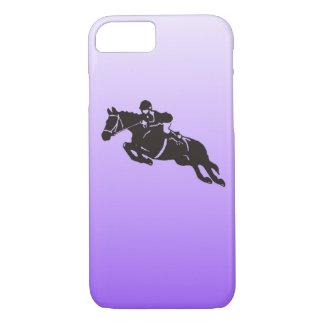 跳躍の馬の電話箱 iPhone 8/7ケース