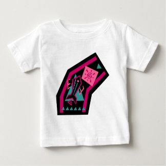跳躍の魚 ベビーTシャツ