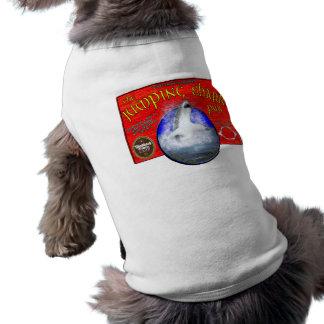 跳躍の鮫のバーの小犬のティー ペット服