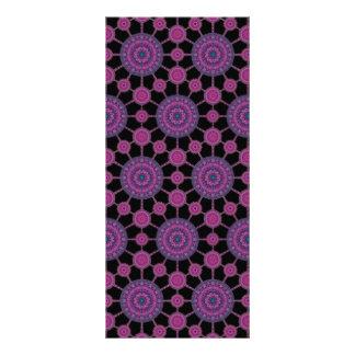 跳躍のChollaのサボテンの曼荼羅の配列のしおり ラックカード
