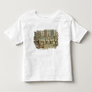 踊って下さいギリシャの女性と流行である トドラーTシャツ