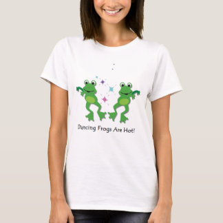 踊りのカエル Tシャツ