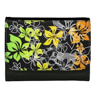 踊りのハイビスカスのハワイアンの財布