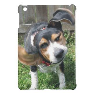 踊りのビーグル犬 iPad MINIケース