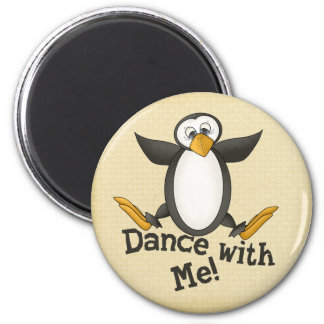 踊りのペンギン マグネット