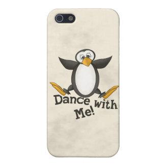 踊りのペンギン iPhone 5 COVER