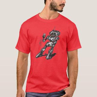 踊りのロボット Tシャツ