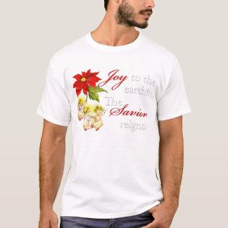 踊りの天使の女性のワイシャツ Tシャツ