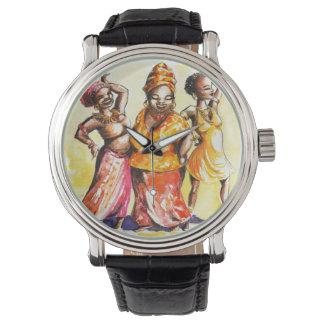 踊りの女性 腕時計