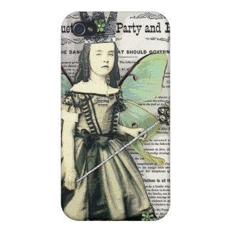 踊りの女王のiPhone 4のマットの懸命の場合 iPhone 4/4Sケース